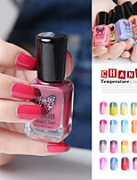 1pcs New BGIRL Water Temperature Change Color Eco-friendly Non-toxic Water-based Nail Polish 20 Colors 11ml