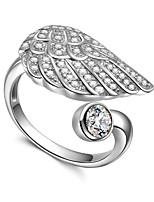 Japan and Korea style 925 Sterling Silver ring with diamond