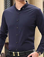 Men's Fashion Casual Long Sleeved Plus Thick Velvet  Shirt