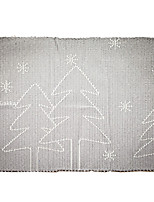Ash Trees Insulation Pad in Table Linen for Christmas Dinner Table Party Decoration