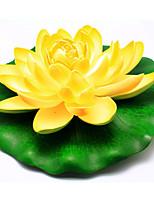 Household Adornment Flowers PEV Plastic Lotus Artificial Flowers
