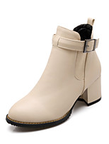 Women's Shoes   Heels / Fashion Boots Boots Outdoor / Office & Career / Casual Chunky Heel OthersBlack /   &c-5