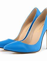 Women's Shoes Leatherette Stiletto Heel Heels / Pointed Toe Heels Party & Evening / Dress / CasualBlack / Blue / Yellow