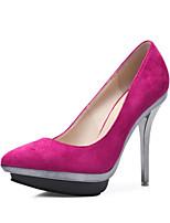 Women's Shoes Fabric Stiletto Heel Platform / Pointed Toe Heels Wedding / Party