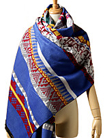 Women Acrylic Scarf , Vintage / Party / Casual