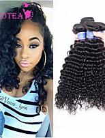 3pcs / lot brésilienne de cheveux vierge profonde vague cheveux brésilienne vierge non traitée faisceaux de cheveux brésiliens