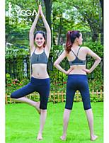 Iyoga ® Yoga Tops Antistatic / Limits Bacteria / Soft / Wicking Stretchy Sports Wear Yoga Women's
