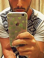Para Funda iPhone 5 Transparente / Diseños Funda Cubierta Trasera Funda Azulejos Suave TPU iPhone SE/5s/5