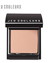 jeu couleurs polvo de piel canela. claro delicado maquillaje sentimiento / color / 3 / jc-006 7,9 g sin aceite