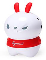 forma de coelho oppoolp Bluetooth Speaker portátil com função de massagem (cores sortidas)