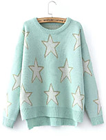 Women's Fashion Casual Split Cashmere Pullover Knit Sweater