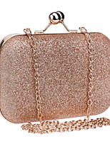 L.west Women Metallic Evening Bag