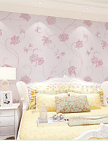 Home Decor Art Classial Big Lively Floral Simple Contemporary Wallpaper Wall Covering PVC Wall Paper 10*0.45 M