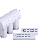 Loading...3-Pack Wireless Remote Control Power Outlet Plug Socket Switch Set for Lamps Household Appliance 120V