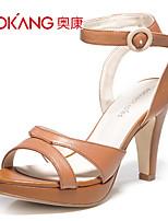 Aokang® Women's Leather Sandals - 132811537