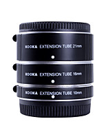 tubos de extensão af alumínio Kooka-ft47a kk definido para Olympus Panasonic micro sistema de 4/3 (10mm, 16 milímetros, 21 milímetros)