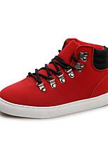 Scarpe Donna - Sneakers alla moda - Tempo libero / Ufficio e lavoro / Casual - Comoda / Punta arrotondata - Piatto - Finta pelle -Nero /