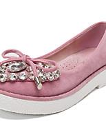 Calçados Femininos - Mocassins - Conforto / Arrendondado / Bico Fechado - Plataforma - Preto / Azul / Amarelo / Rosa / Roxo / Vermelho -
