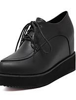 Women's Shoes  Platform Square Toe Boots Casual Black