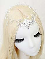 Dame Rhinestone / Legering / Imitert Perle Headpiece Bryllup / Spesiell Leilighet Pannebånd Bryllup / Spesiell Leilighet 1 Deler