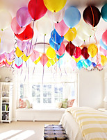 100pcs festa compleanno natale nozze perla palloni rotondi 1.3g