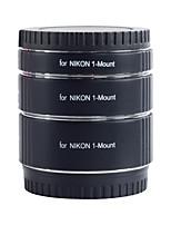 tubos de extensión af Kooka kk-nm47 latón macro con exposición automática TTL para Nikon 1 serie (10mm 16mm 21mm) cámaras