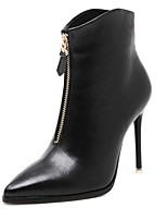 Women's Shoes  Stiletto Heel Bootie / Pointed Toe Boots Outdoor / Casual Black