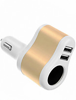 Cwxuan 5V 3.1A Dual USB Car Power Charger and 12V Car Cigarette Lighter Socket