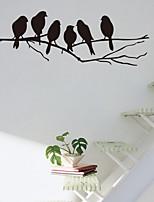 Animales / Botánico / Romance / Naturaleza muerta / De moda / Florales / Fantasía Pegatinas de pared Calcomanías de Aviones para Pared ,