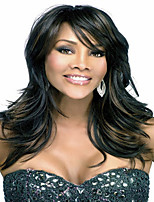Sublimate Lady Women Wig Top Quality  Mixture Color Syntheic Wave Wigs In Stock