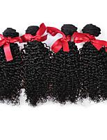 Malaysian Curly Hair Weavings 4pcs Virgin Hair Kinky Curly Weave 100% Human Hair 7A Grade Malaysian Hair Weft 100g/pcs