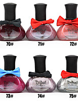 6pcs 12ML Tribal Color Bow Series  Nail Polish