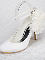 Women's Shoes Stiletto Heel / Round Toe / Closed Toe Heels Wedding / Office & Career / Party & Evening /White