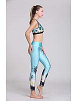 Yoga Sets de Prendas/Trajes Pantalones + Tops Materiales Ligeros / Reductor del Sudor Alta elasticidad Ropa deportiva Mujer - OtrosYoga /
