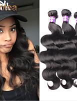 3pcs / lot protea non trasformati prodotti per capelli capelli vergini brasiliani dell'onda del corpo di 100% capelli umani brasiliani