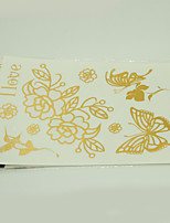 10/PCS Hot Sale Color-Changing Tattoo Handsome Multi-Style Temporary Tattoo For Fashion WST-205