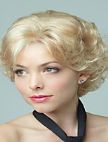 Cheap Price Lady Women  To European And America  Blonde Synthetic  Wigs