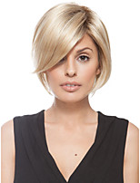 New Arrival Blonde Short Straight Sexy Hair Wigs for Daily Natural Synthetic Wigs
