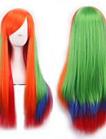 l'Europe et les États-Unis les nouvelles perruques cosplay gradient anime cos les perruques de cheveux original long féminins m18-188