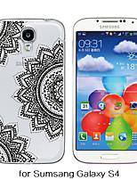 Para Funda Samsung Galaxy Transparente / Diseños Funda Cubierta Trasera Funda Mandala TPU Samsung S6 / S5 / S4