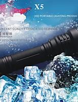LED Flashlights LED 5 Mode 1000 LumensWaterproof  Impact Resistant Nonslip grip Self-Defense Super Light