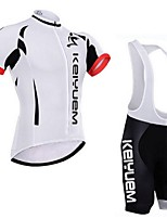 KEIYUEM®Others Unisex Short Sleeve Spring / Autumn Cycling Clothing Suits TightsWaterproof / Breathable / Insulated