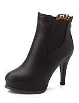 Women's Shoes Synthetic Chunky Heel Fashion Boots / Combat Boots Boots Outdoor / Office & Career