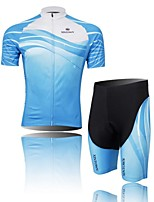 Men's Short Sleeve Spring /Summer /Autumn Cycling Clothing Sets/Suits ShortsBreathable / Ultraviolet Resistant /Moisture