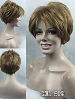 2016 nouvelles perruques ash perruque courte femmes droite blonds synthétique