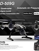 jxd509g rc quadcopter drone 5.8g FPV avec caméra HD 2.0MP, haute, mode sans pression d'air automatique, un rendement clé