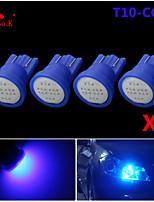 ad alta potenza 4 x blu pannocchia t10 194 168 LED 12V lampadine strumento dash