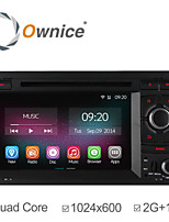 Ownice 2G RAM Quad Core Car DVD Player For Audi A4 2002 2004 - 2008 with Android 4.4 GPS Navigation Radio 1024*600