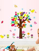 Animals / Botanical / People Wall Stickers Plane Wall Stickers , PVC 60cm*80cm