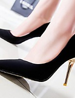 Women's Shoes Suede Fashion Vintage Stiletto Heel Comfort / Pointed Toe Heels Office & Career / Dress